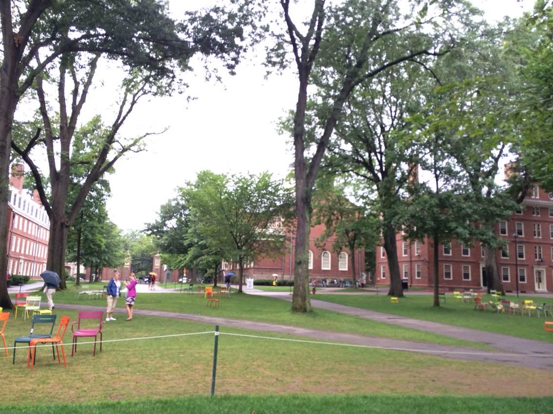 哈佛大学校园风光-美国游学团