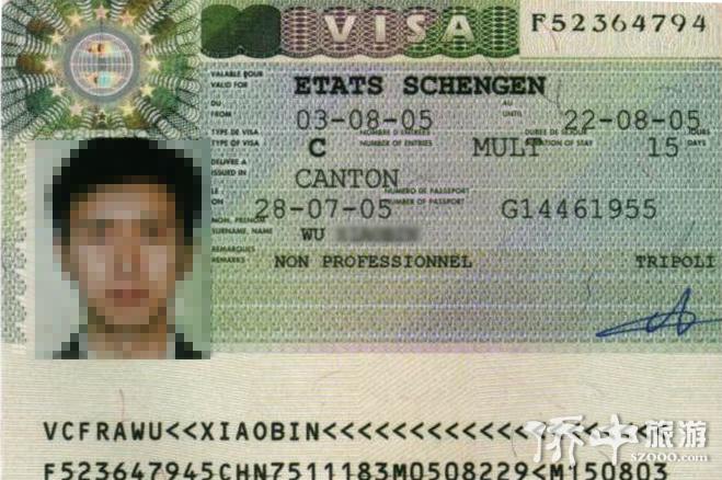 法国旅游签证,法国商务签证